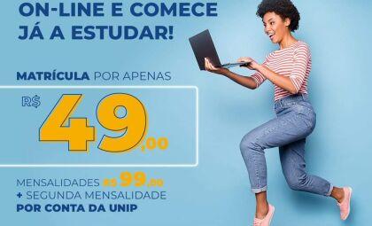 Faça seu vestibular 100% on-line na Unip - Universidade Paulista- polo Dourados/MS e conheça o curso de história