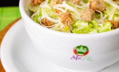 Saladas Mr Fit: variedade para sua dieta
