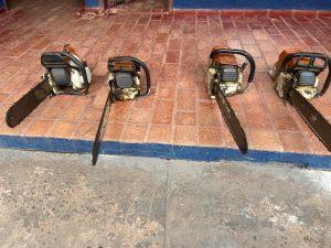Três são autuados em R$ 18,6 mil por exploração ilegal de madeira