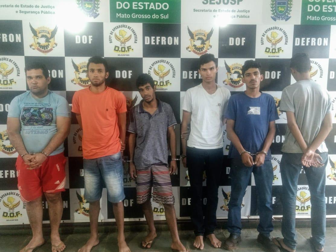 b5cc3f720 Grupo é preso após roubo articulado por funcionário de empresa ...