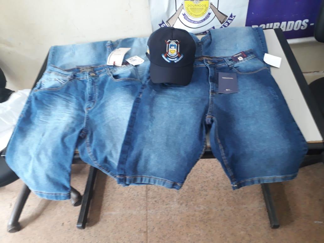 44098d9c5 A Guarda Municipal de Dourados prendeu por volta das 11h desta  segunda-feira