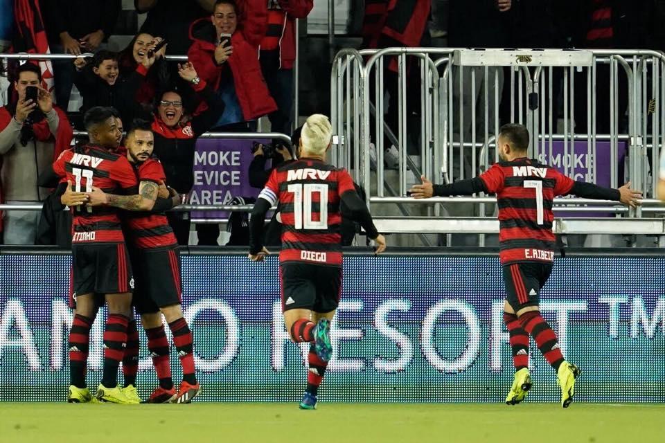 01769c1e7b Flamengo conquista título da Florida Cup 2019