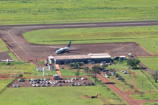 Aeroporto receberá reforma a partir de 2018- Foto: Divulgação/ Aviação Regional de Dourados