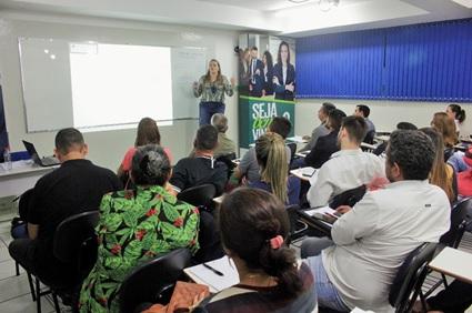 Aula do Curso de TTI com a professora Doutora Cristina Klose