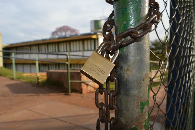 Greve parcial na rede municipal de ensino durou mais de três meses- Foto: Gizele Almeida/Arquivo